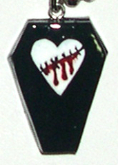 heart and coffin