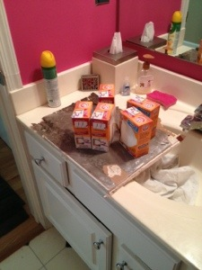 baking soda boxes