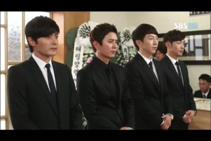 characters Kim Do Jin, Choi Yoon, Im Tae San and Lee Jung Rok