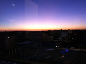 Sunset in Raleigh