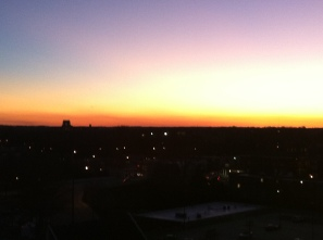 Sunset in Raleigh, NC