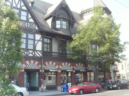 a building in Brookline