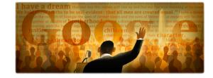 Martin Luther King Jr Google Doodle