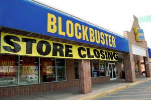 Blockbuster store closes