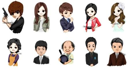 City Hunter Cast Cartoon