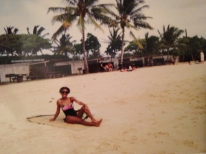 Private Hawaiian beach