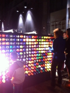 Life-sized Lite-Bright game