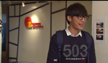 Aaron Yan as Xiao Lu in Fall in Love with Me