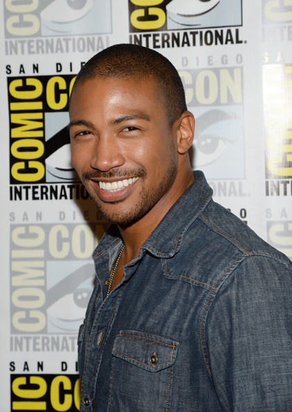 Charles Michael Davis at Comic Con
