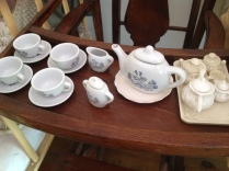 Old children's tea set