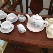 Old children's tea set