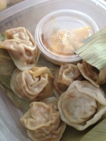 Chirba Chirba Ginger dumplings