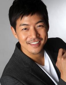 Lee Sang Yoon with mustache