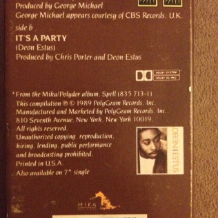 Cassette Single Backside