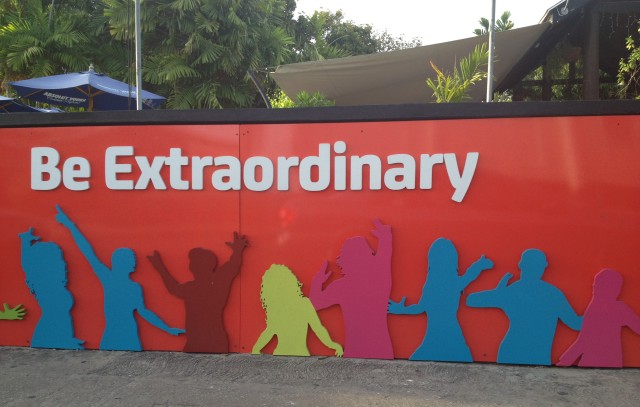 Be Extraordinary billboard