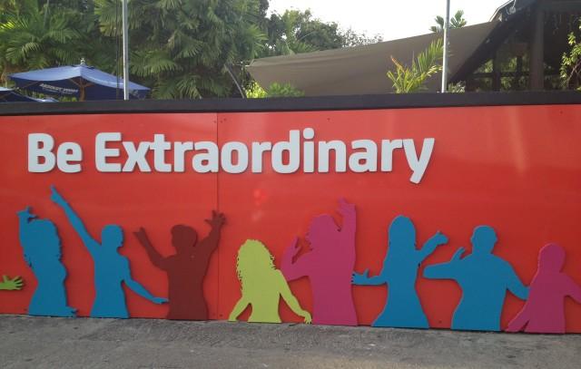 Be Extraordinary billboard