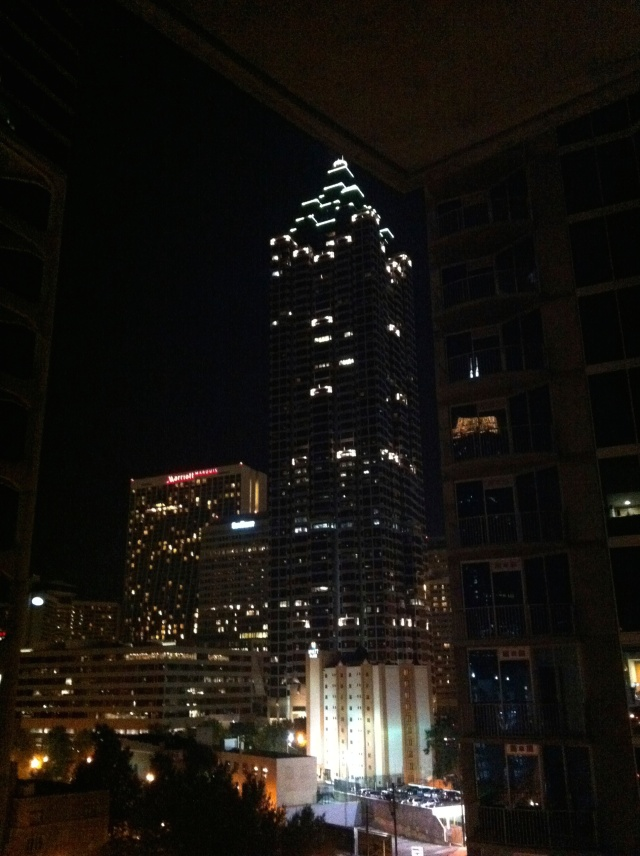 Atlanta city lights
