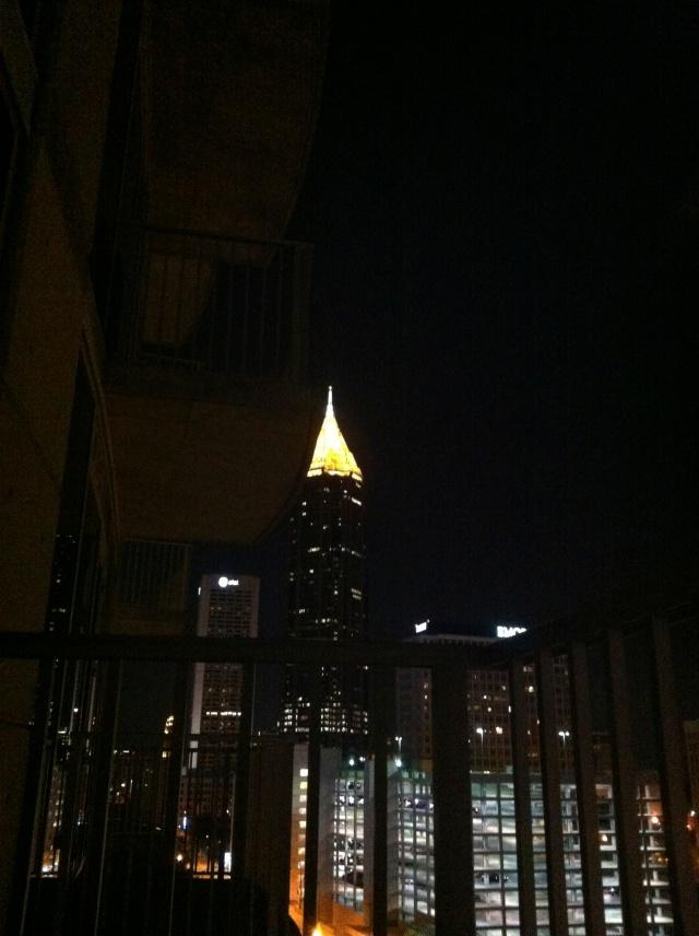 lighted steeple