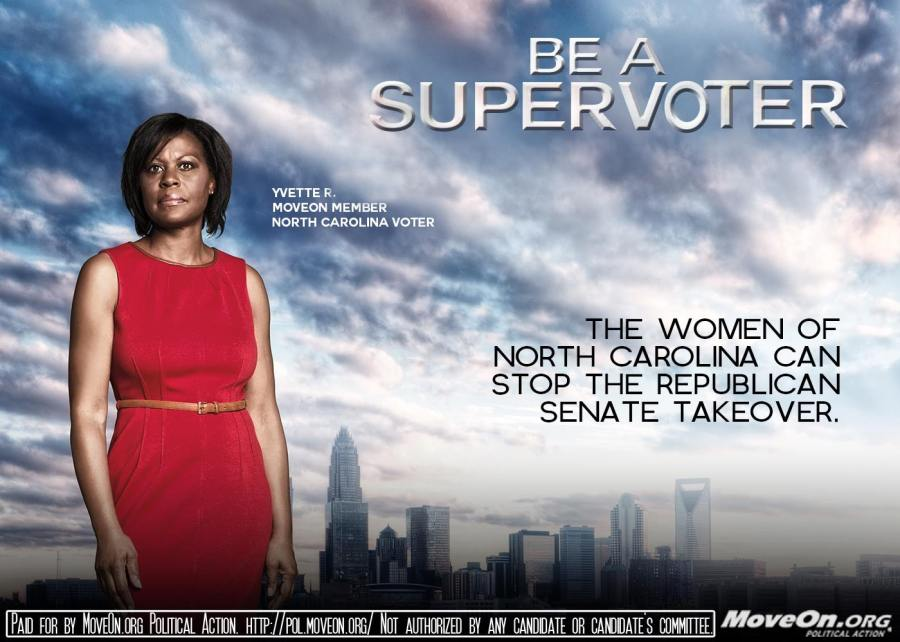 Super voter 2014 by MoveOn.org
