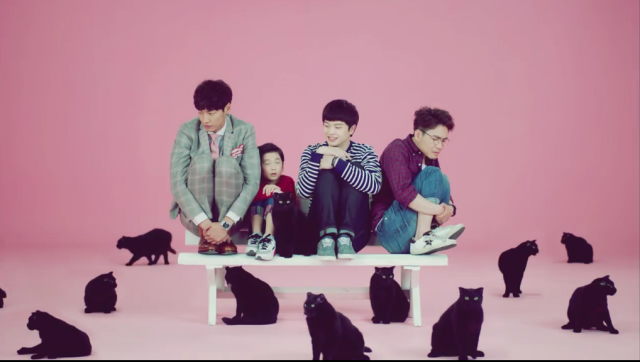 Main cast of Plus Nine Boys