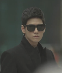 Park Jae Bum with shades