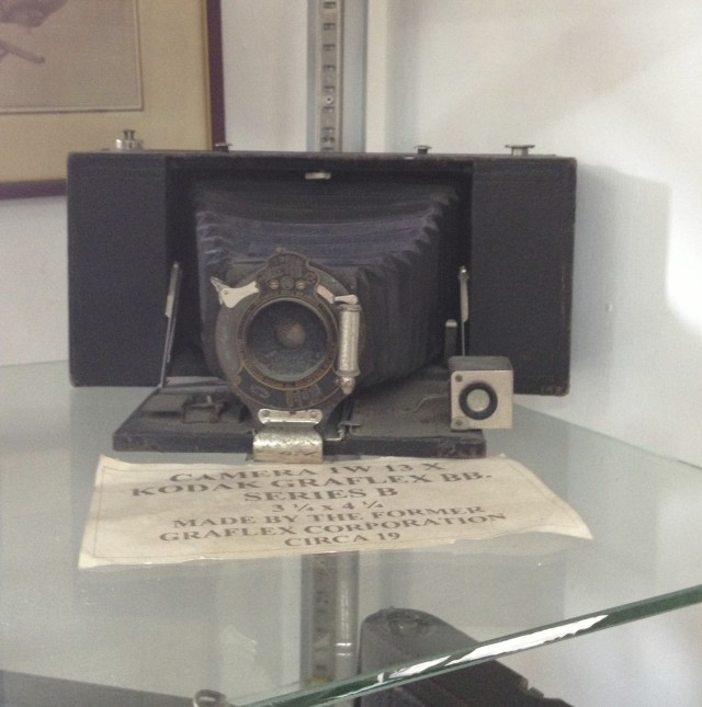 old Kodak camera