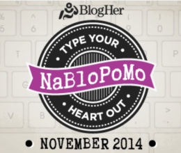 NaBloPoMo Nov. 2014 logo