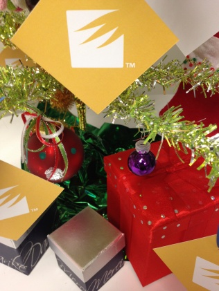 handmade boxes under the tree