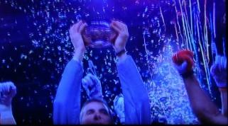Coach Urban Meyer celebrates