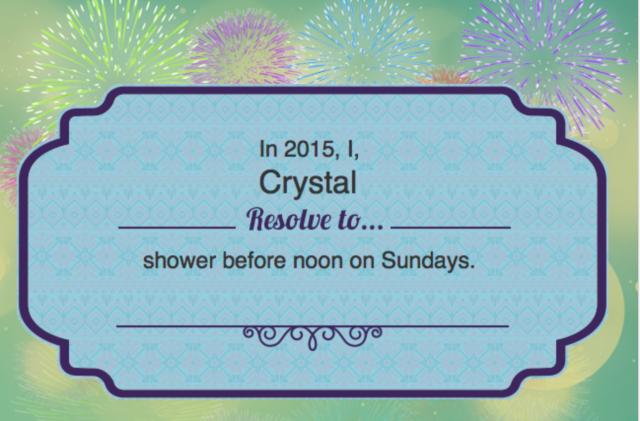 Shower on Sundays