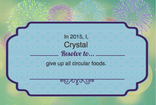 resolution to give up circular foods