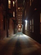 Alley shadow