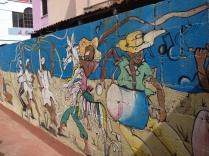 Bajan mural