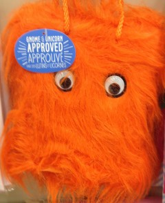 furry orange monster