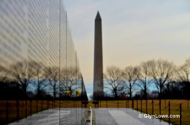 War memorial Washington, DC. Copyright - Glyn Lowe Photoworks