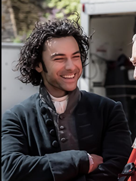 Ross Poldark smiles