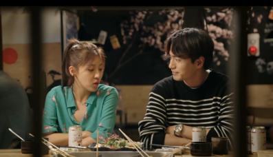 Oh Ha Oh Ha Na and Choi Won at dinner