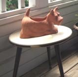 scottish terrier planter