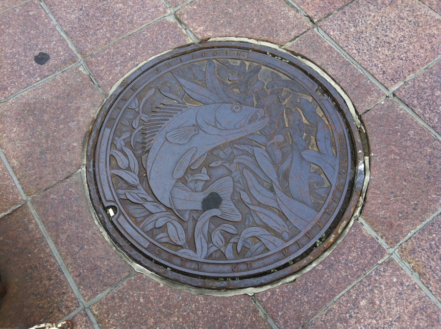 Minneapolis manhole cover art