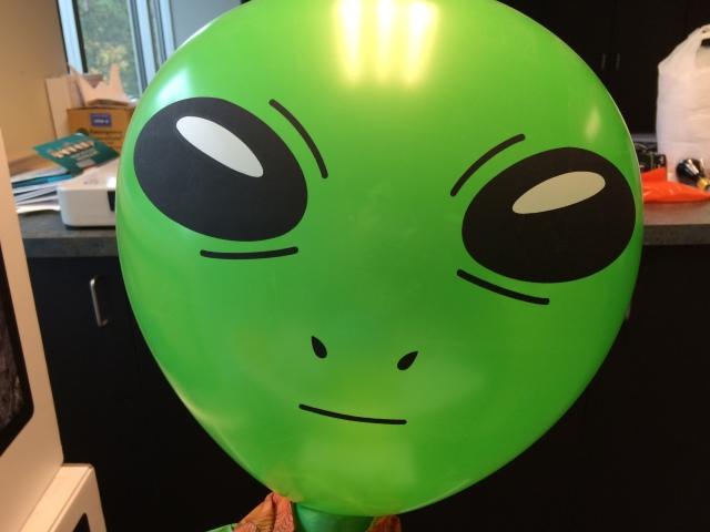 Martian ballon