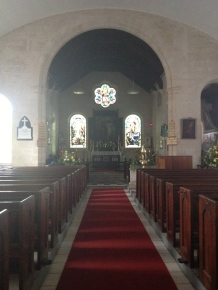 inside St. George Parish Church