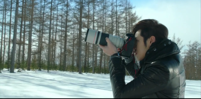 photographer taking photos