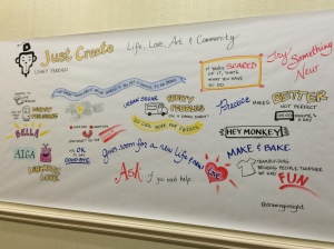 Just Create session at High Five Conference