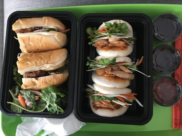 Banh Mi and steamed buns
