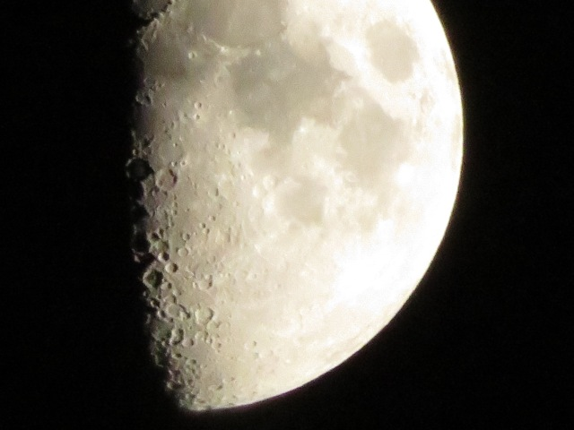 moon up close 160x zoom