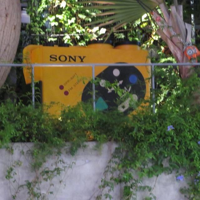 Giant Sony Walkman in Tokyo